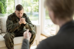 In therapy for PTSD
